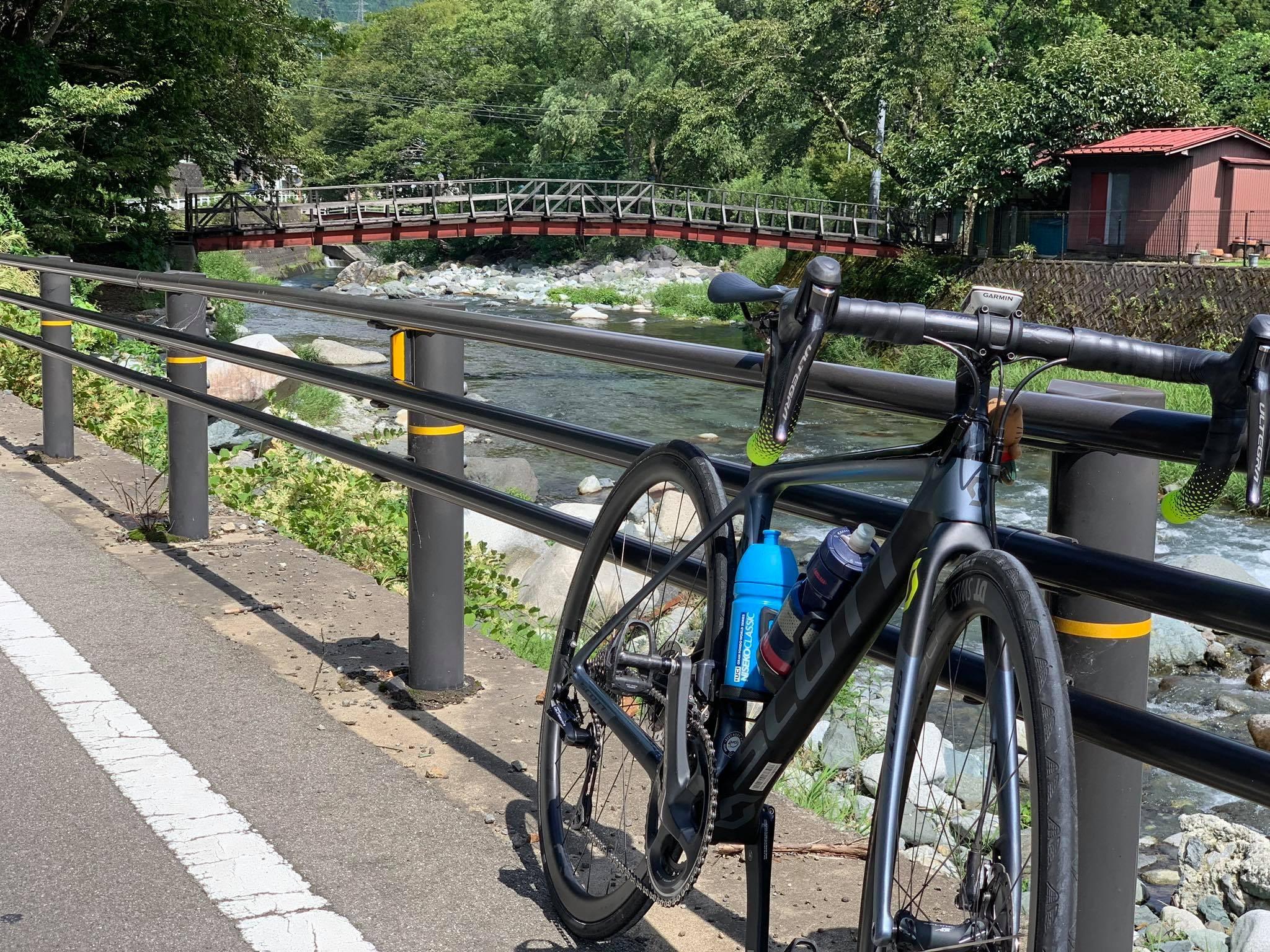 離開市區後,基本上一路沿著道志川西行。
