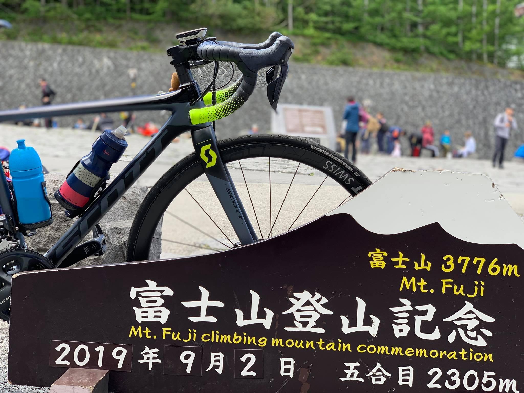 始於東奧賽道踩線的這趟騎旅,最終以富士山五合目劃下句點。